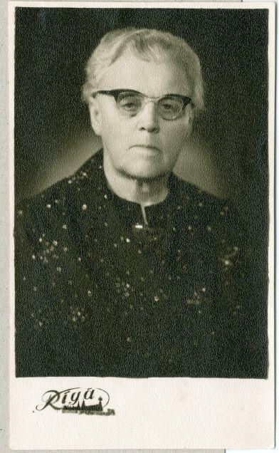 Anna Ūdre 1967.gada portrets