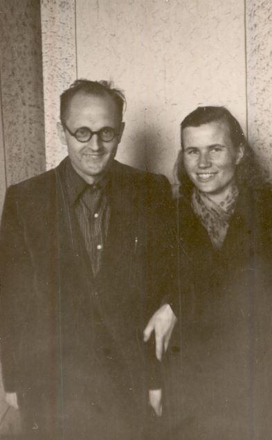 Vladislavs un Stefānija Urtāni 1950.gadu II.pusē