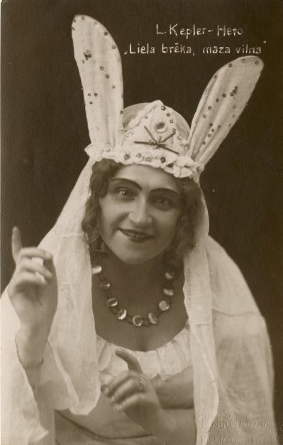 "Lidija Keplere – Heto lugā ""Liela brēka, maza vilna"". 1920.gadi"