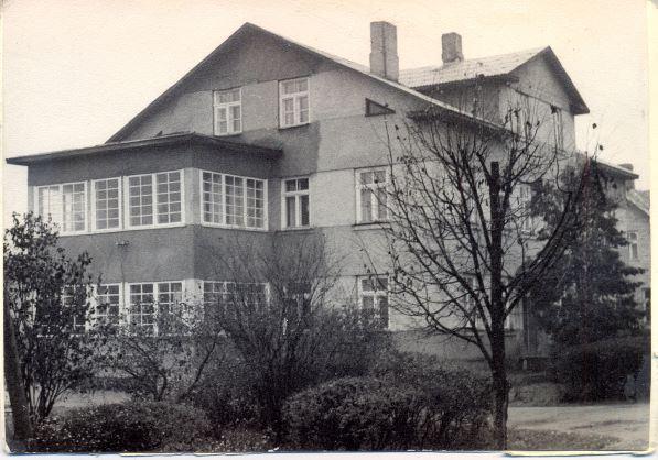 Madonas rajona tuberkulozes dispansers, Parka ielā 6. 1970.gadi