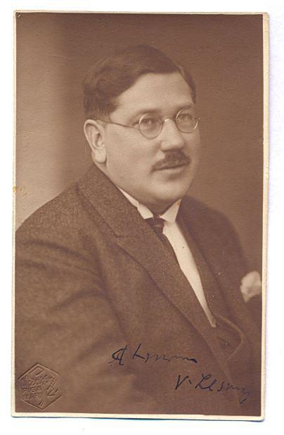 Voldemārs Lesnieks (1890-1973). M.Lapiņa foto