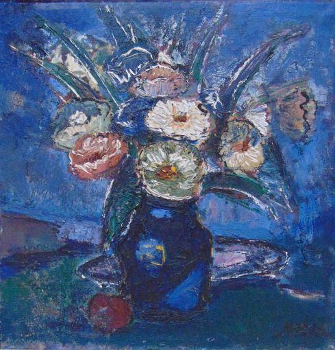 """""""Ziedi zilā"""", 1984"""