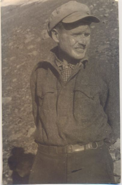 Augusts Lietavietis alpīnistu ekspedīcijā Tjanšana kalnos ap 1936.gadu
