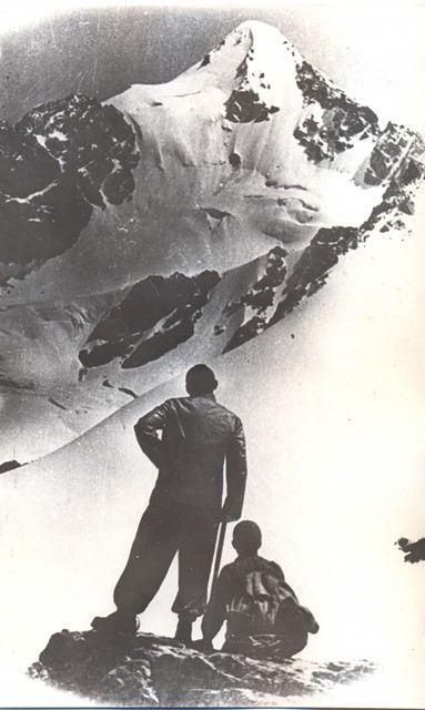 Augusta Lietavieša vārdā nosauktā smaile Tadžikistānā 1938.gads