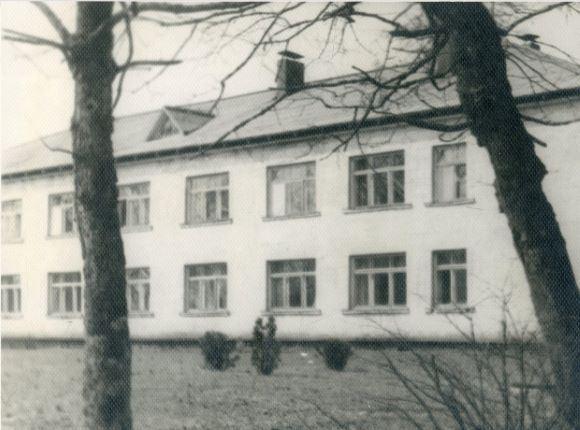 Ērgļu slimnīcas ķirurģiskais korpuss. 1960.gadi