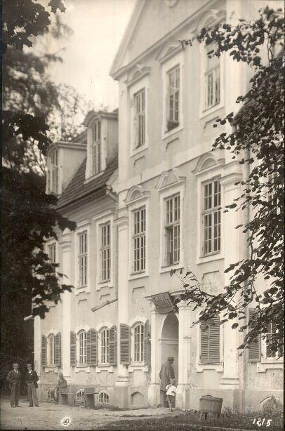 Dzelzavas pils ap 1920.gadu. O.Priedīša foto