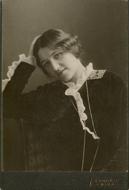 Lidija Keplere 1914.gada maijā Rīgā