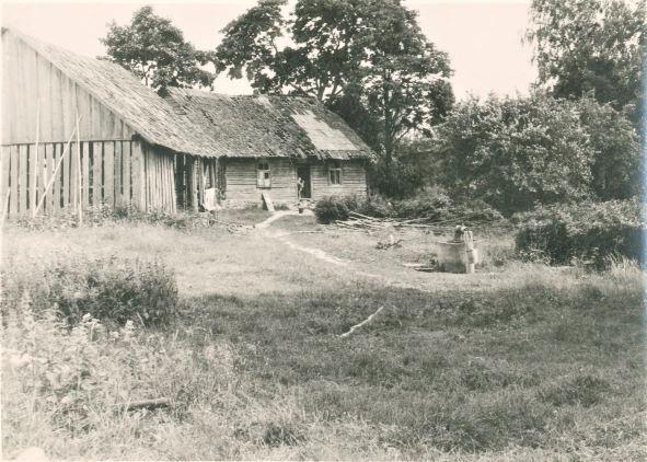 """""""Birzemnieki""""- māja Ļaudonas pagastā, kur dzimusi L.Keplere"""