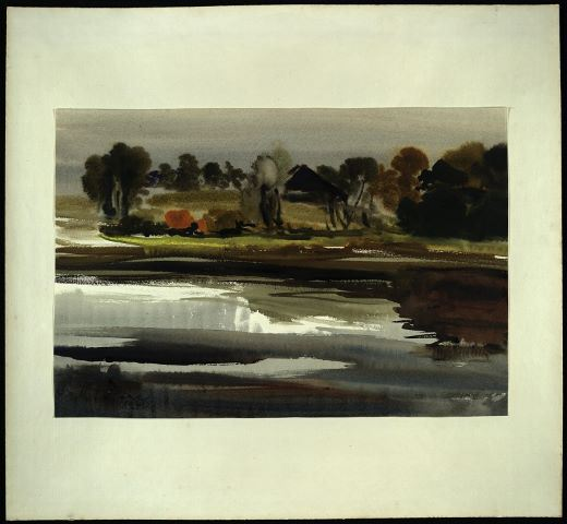 """Bavanu ezers"", 1970"